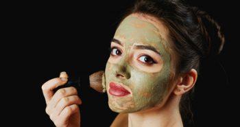 חימר ירוק לעור הפנים